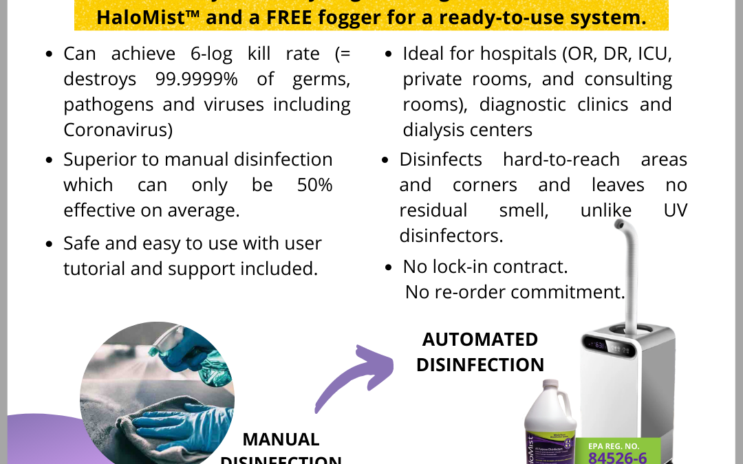 How Automated Room Disinfection Better than Manual Disinfection?